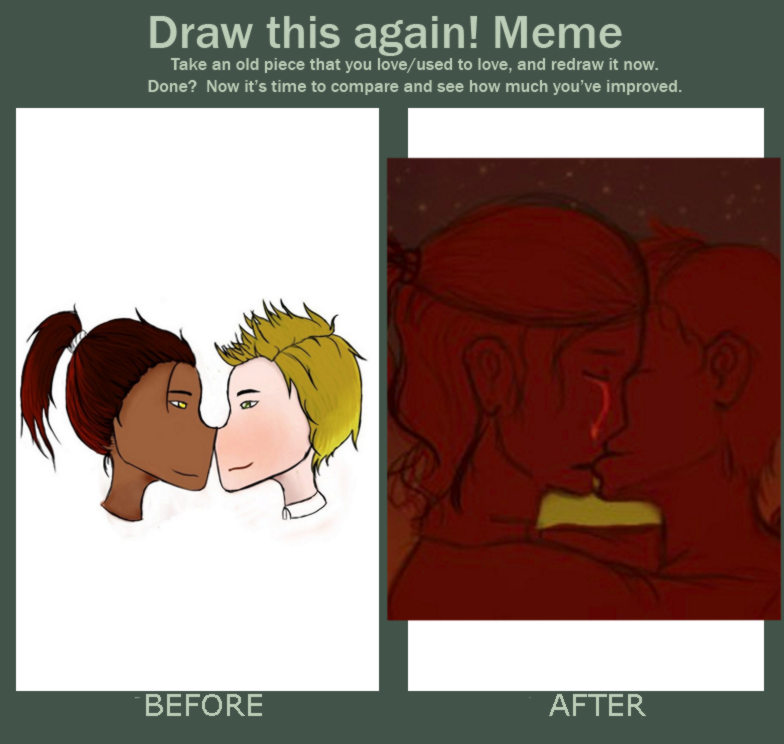 Redraw this-Yaoi to Remembering you in Memories by CordeliaHyder4604