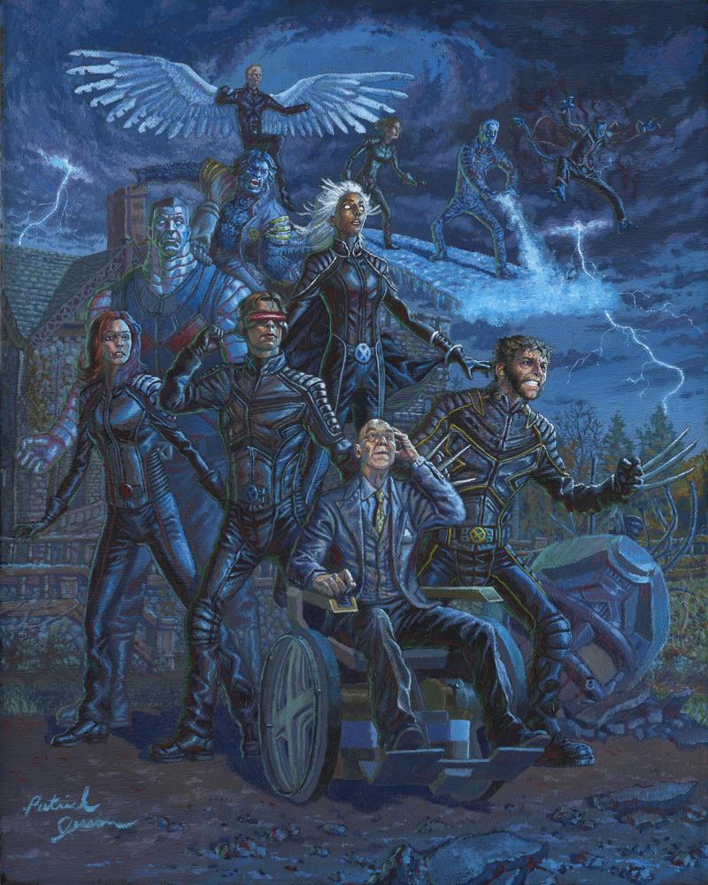 X-Men by patrickjay