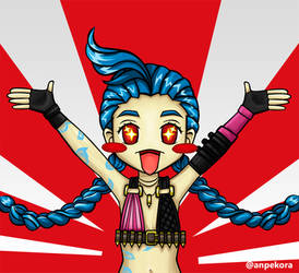 Chibi Jinx - Ranked Time