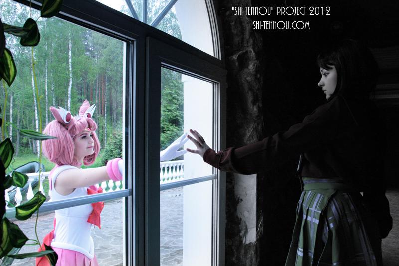 Sailor Chibi Moon and Hotaru Tomoe by KarolinaNA
