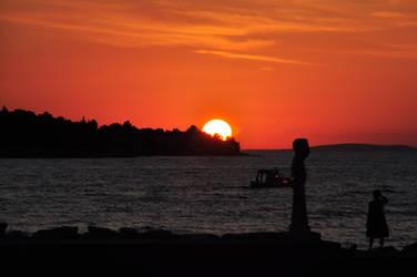 Sunset by Sundram