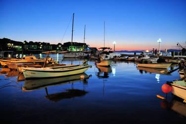 Twilight Port by Sundram