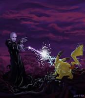117 Pikachu vs voldemort by foice