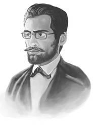 Self-portrait like a sir by foice