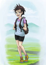 Videl Redeign - Character Design Challenge entry by foice