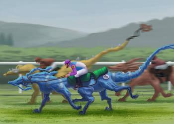 Dragon race by foice