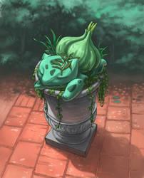 Bulbasaur sleeping