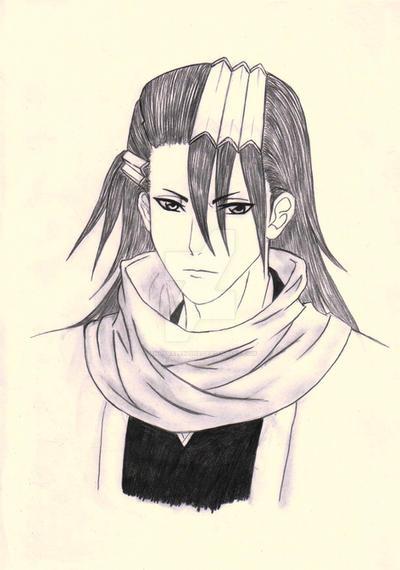 Byakuya Kuchiki Portrait by AngyValentine