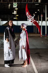 Dark Rukia cosplay - The Evil beside you by AngyValentine