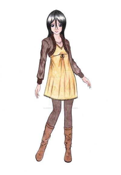 Hisana Kuchiki Fashion Test By Angyvalentine On Deviantart