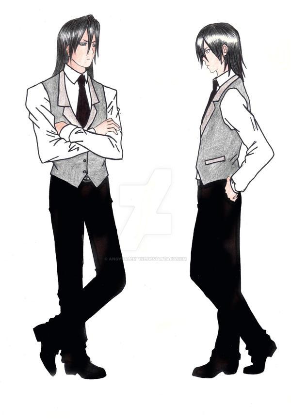 Byakuya Kuchiki Fashion Test By Angyvalentine On Deviantart