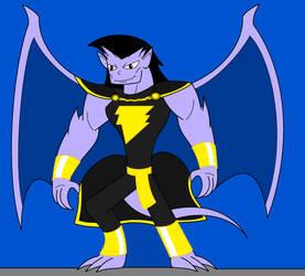 Goliath as Shazam/Captain Marvel