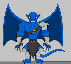 Nappa The Gargoyle by 115spartan
