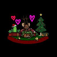Christmas Mouse! by Kekekotka