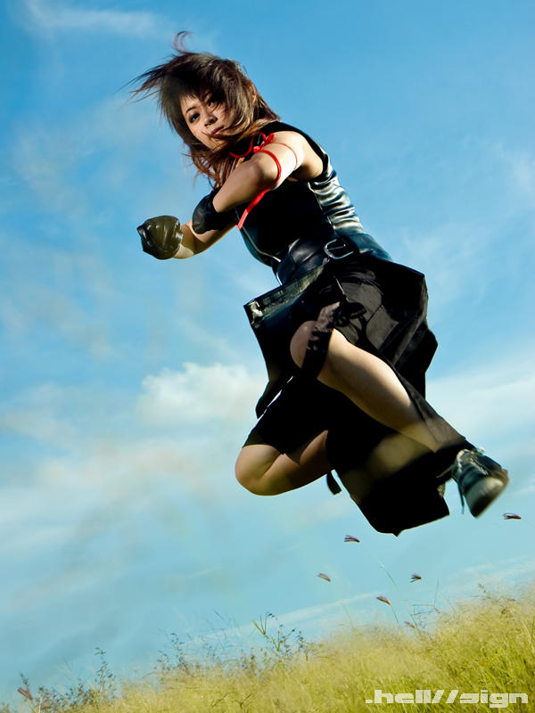 Sky Surfer Tifa by hellsign