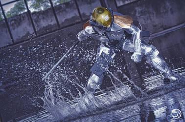 Raiden Splash by hellsign