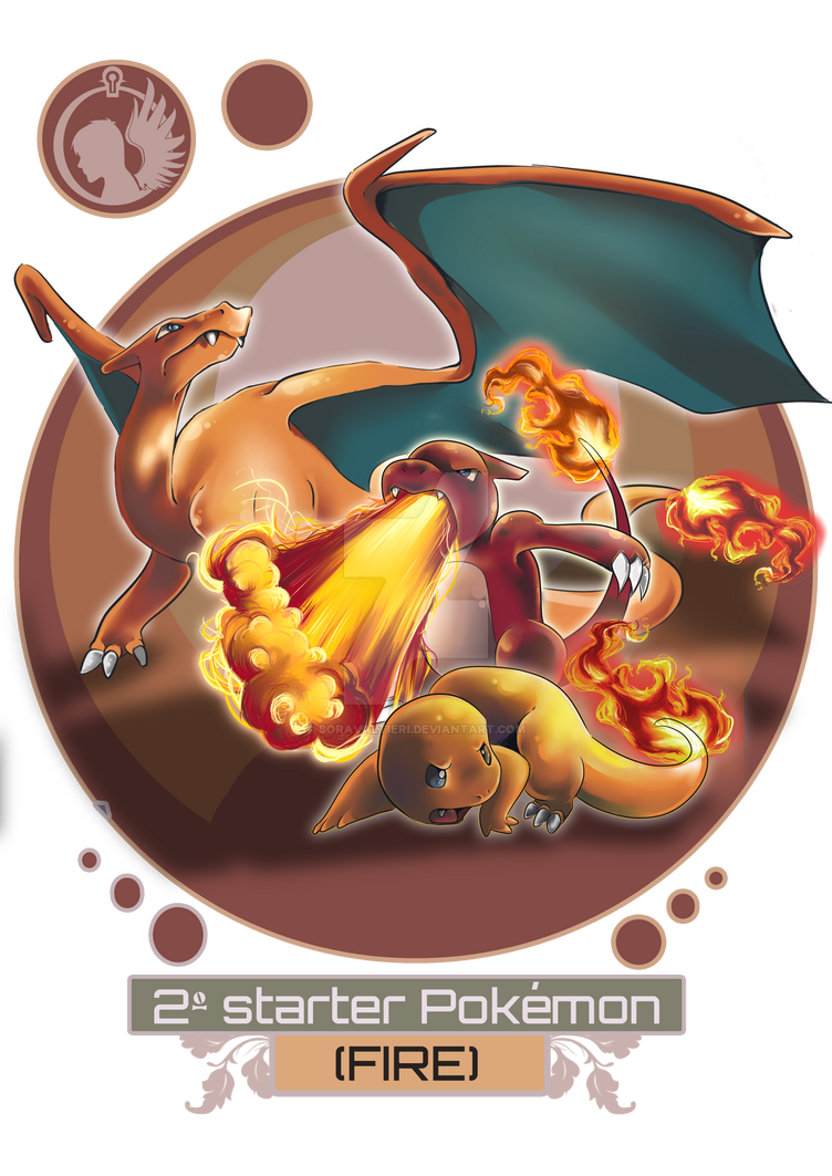Fire starter pokemon wallpaper