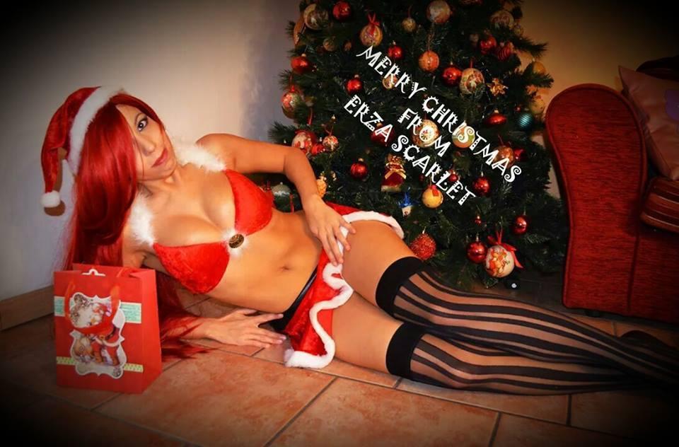 Erza Scarlet Christmas by SidneyRobin on DeviantArt