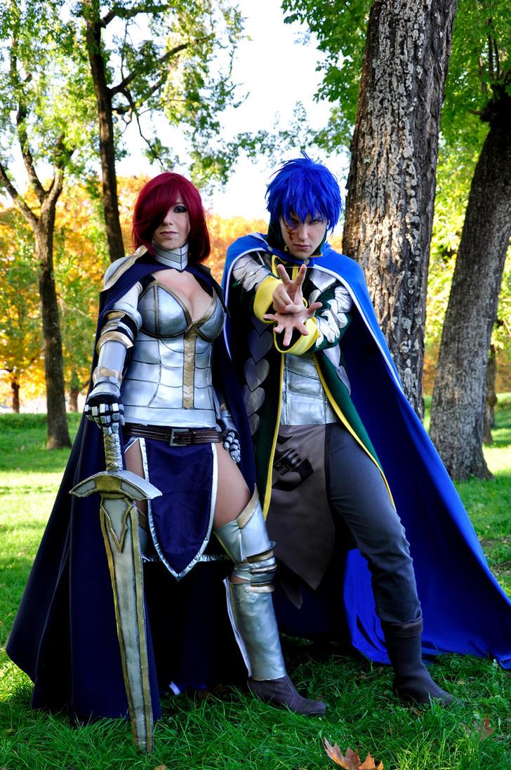 Jerza Jellal Fernandes and Erza Scarlet by ScarletVonD on ...