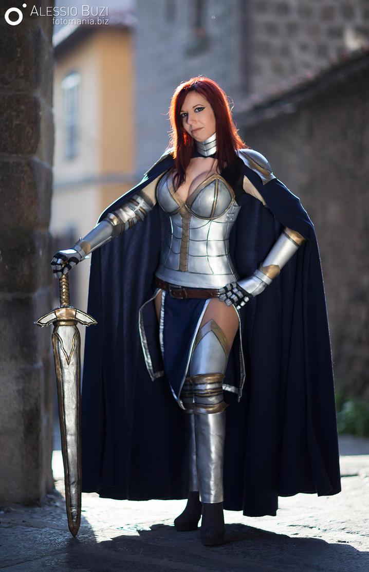 erza scarlet cosplay by sidneyrobin on deviantart