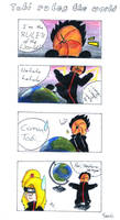 Tobi rules the World x3