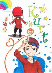 Glee: Kurt by Freaky-chan