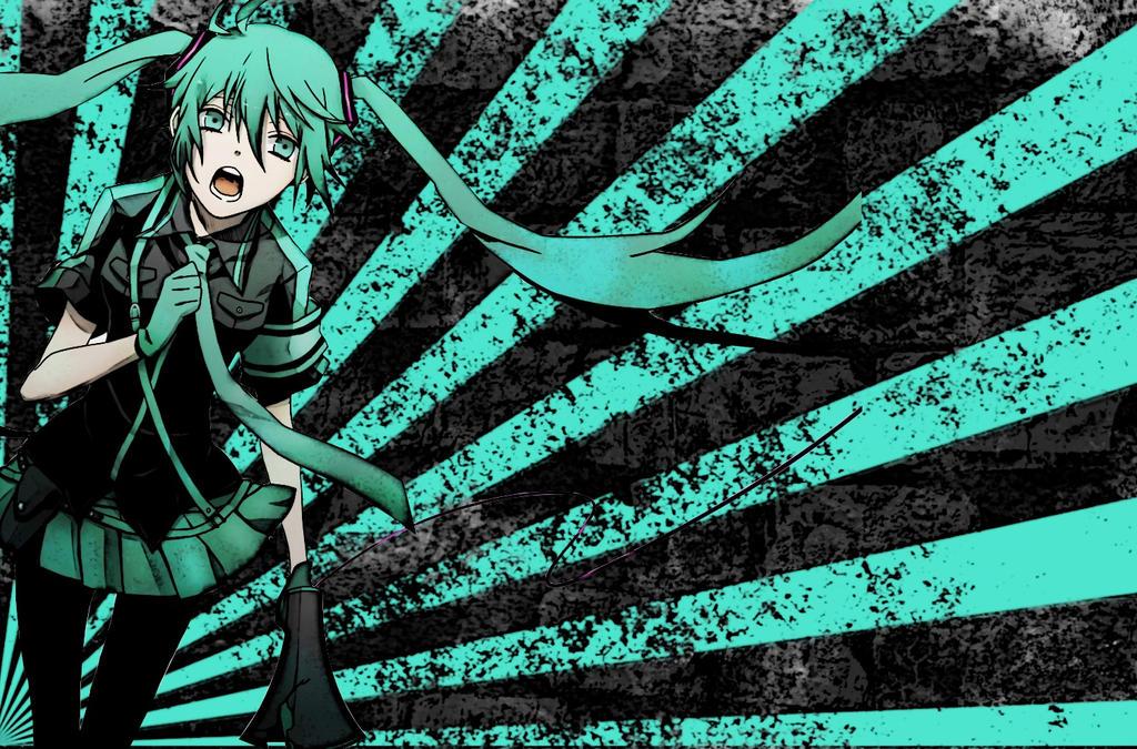 FREE! Hatsune Miku Love is War Wallpaper by ...