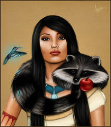 Pocahontas by a-Astree
