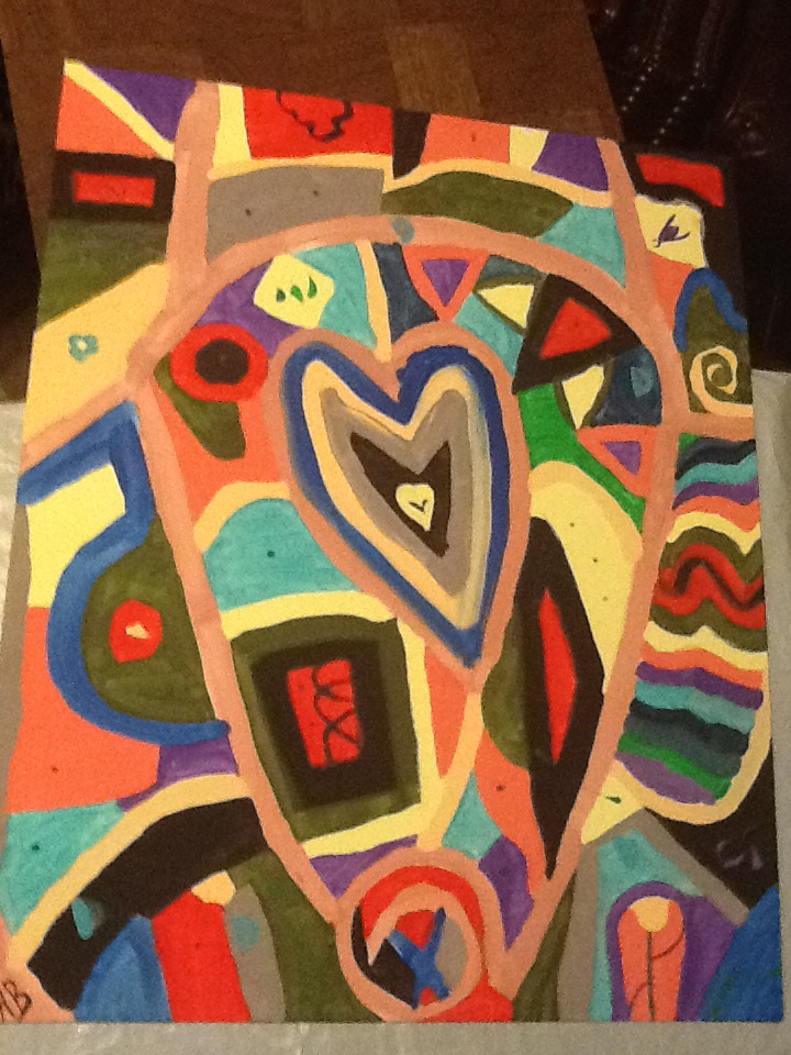 Painting 5-10-15 by DarkGoddessK
