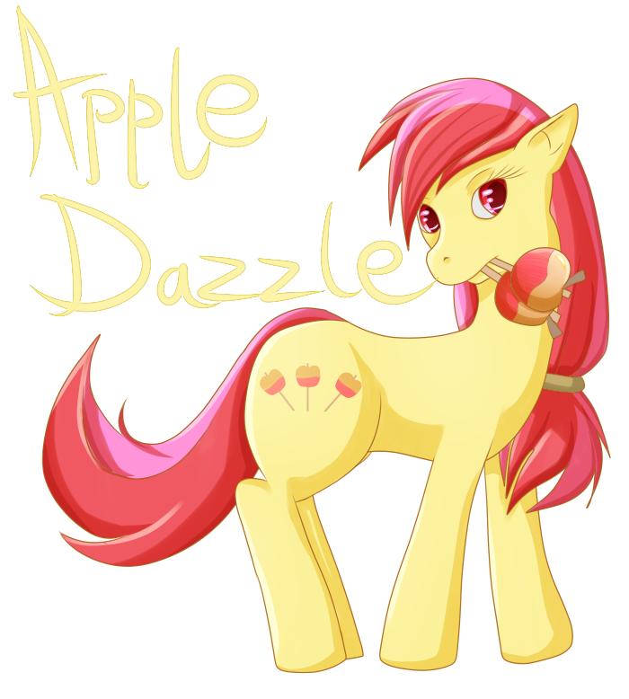 Apple Dazzle - Doodle 1 by Sanyamio
