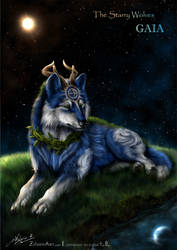 The Starry Wolves - Earth (Gaia) by ZilvenArt