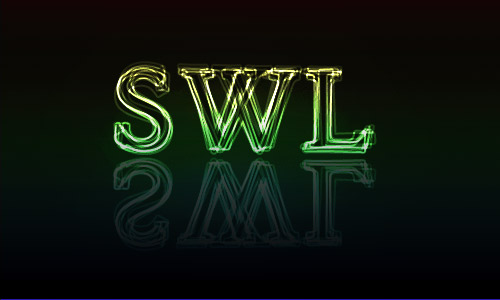 SWL with Glowing Text Effect by halimpeter