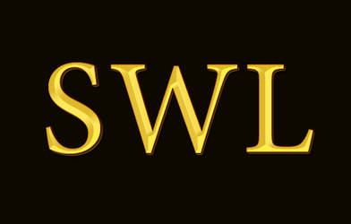 SWL with Gold Text Effect by halimpeter
