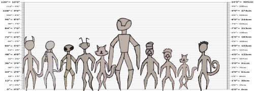 Character height chart 1 by SCIFI-RICE