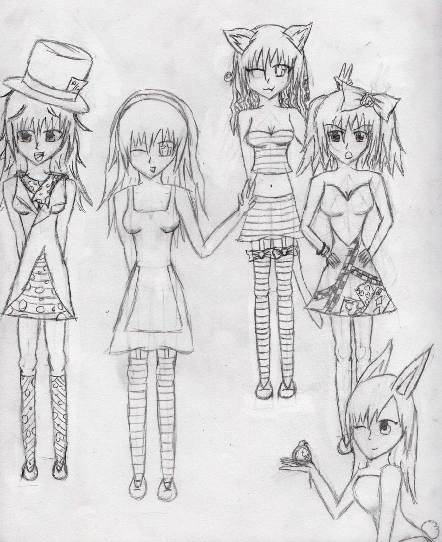 Anime Alice in Wonderland by RoxiiRoxas on DeviantArt