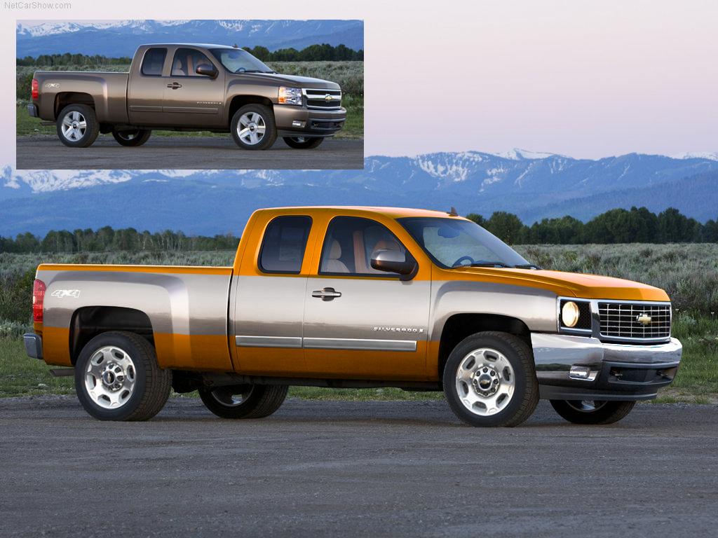 Truck chevy concept truck : 2009 chevy silverado concept by stuntdoublejoe on DeviantArt