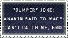 Stamp - Jumper Joke. by BowChickaBowWow