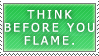 Stamp - Flaming 101 by BowChickaBowWow