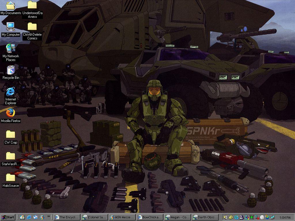 Halo 2 Wallpaper By BowChickaBowWow