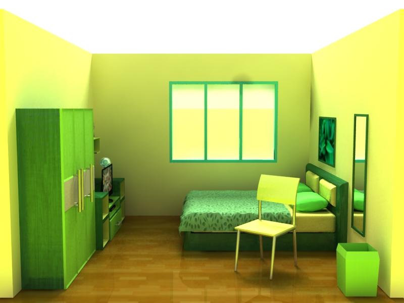kamar tidur 3d 2 by d 737 on deviantart