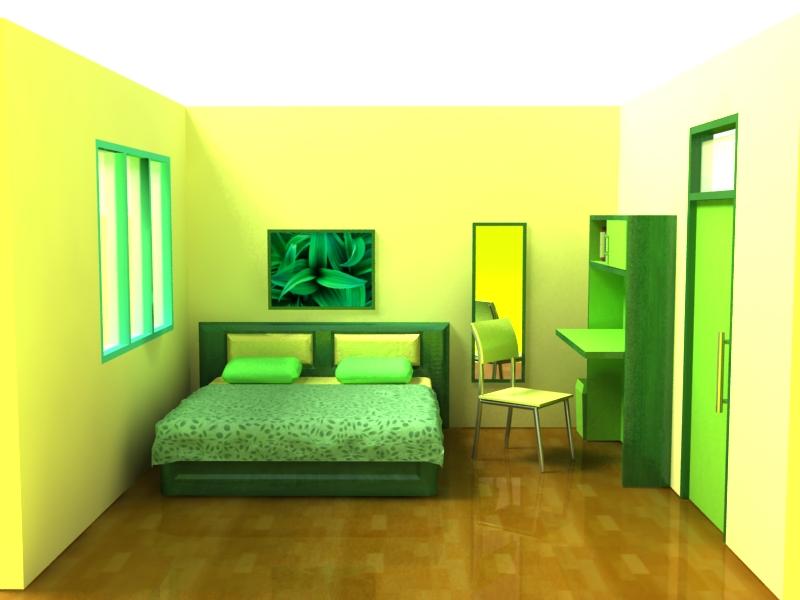 kamar tidur 3d 4 by D-737 on DeviantArt