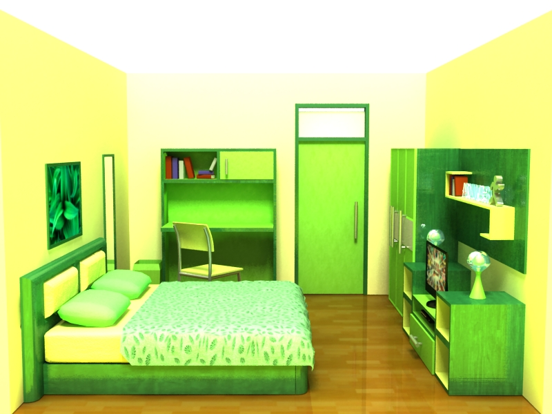 kamar tidur 3d 7 by d 737 on deviantart