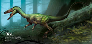 Coelophysis_complete version by PREHISTOPIA