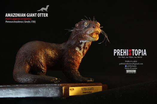 Amazonian Giant Otter - Nutria gigante amazonica