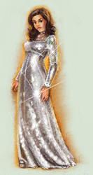 Disco ball dress by zapatones
