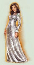Disco ball dress