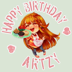 Happy Birthday, Artzy