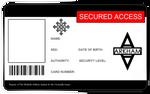 Arkham Asylum ID Card - Blank