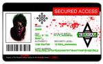 Arkham Asylum ID Card - Joker