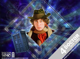 Doctor Who 50th Anniversary - The 4th Doctor by VortexVisuals